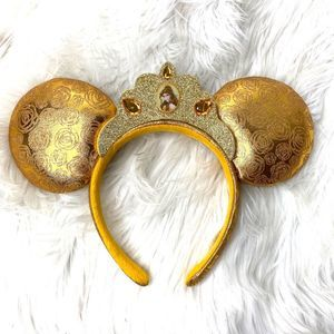 Disney Parks Belle Ears Belle Crown Headband